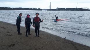 ウインドサーフィン 海の公園 スピードウォール 横浜 神奈川 スクール 体験 初心者 SUP