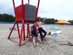 ウインドサーフィン スクール スピードウォール 神奈川 横浜 海の公園