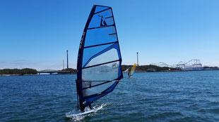 ウインドサーフィン 横浜 神奈川 海の公園 スピードウォール speedwall スクール 体験 初心者