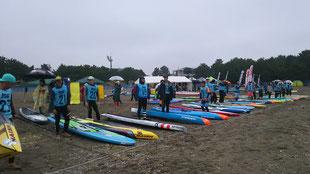 ウインドサーフィン SUP 海の公園 神奈川 横浜 スピードウォール サップフェスティバル