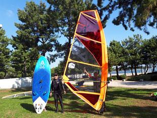 ウインドサーフィン SUP スクール 海の公園 神奈川 横浜 体験 初心者