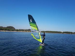 ウインドサーフィン 海の公園 スピードウォール スクール 初心者 体験 神奈川 横