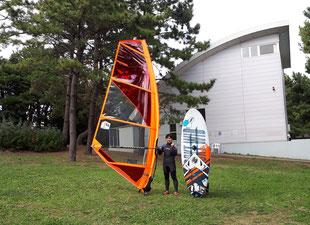 ウインドサーフィン 海の公園 スピードウォール スクール 初心者 体験 神奈川 横浜