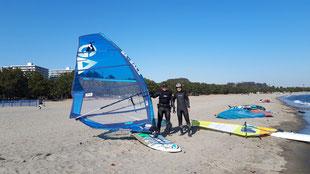 海の公園 ウインドサーフィン 神奈川 横浜 スピードウォール スクール