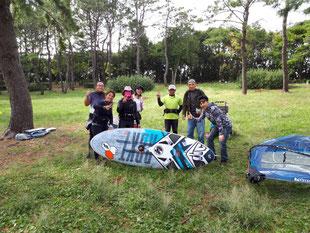 ウインドサーフィン 海の公園 スピードウォール スクール 体験 初心者 横浜 神奈川
