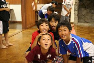 菅FC2015年度卒業生合宿写真