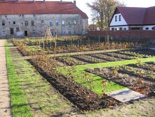 Bepflanzung einer Hofanlage