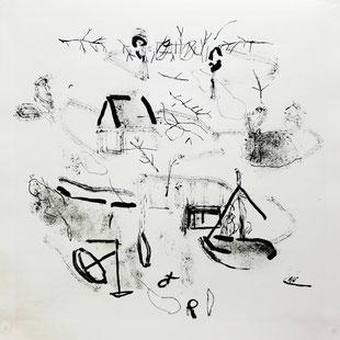 Bruno Patyn, peintures et estampes