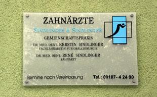 Zahnarztpraxis Dres. Sindlinger in Winkelhaid bei Altdorf / Nürnberger Land