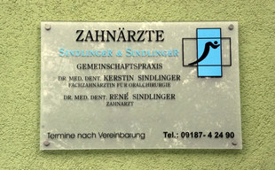 Zahnarzt Dr. Sindlinger in Winkelhaid bei Altdorf / Nürnberger Land