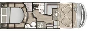 Grundriss Mobilvetta K-Yacht Tekno Line 89