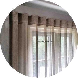 Tende interni atelier tessuti arredamento tende tendaggi for Tendaggi moderni design