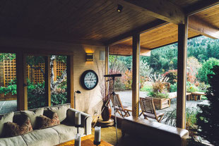 Wohnzimmer, Salon, Veranda, Terrasse, Sofa