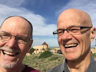 Terry and Guy at Nada, Summer 2015