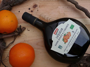 Bio Armagnac Likör mit Orange