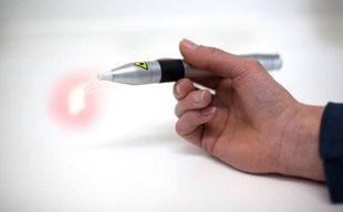 Schmerzfrei und blutungsarm: Laserbehandlung! Auch gegen Aphthen und Lippenherpes.