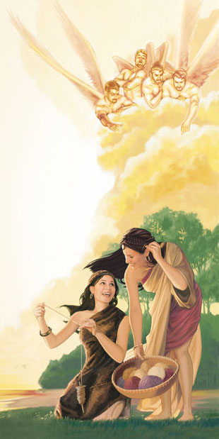 Tout comme Justin de Naplouse et ainsi que l'enseigne le livre d'Enoch, Athénagore croit que les âmes des géants, hybrides entre anges rebelles et femmes, sont restées sur la terre après le déluge et y répandent le mal. Il croit à l'immortalité de l'âme.