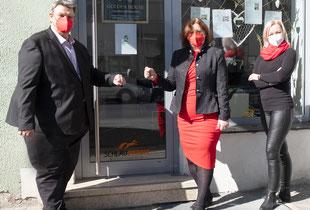 Julia Spasova und Andrea Tabrizi, die in Graz eine Immobilienvermittlung betreiben, verzeichnen immer häufiger, dass Unternehmen nicht mehr in der Lage sind, ihre Miete zu bezahlen und daher ihren Betrieb schließen müssen.