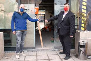 """Szenewirt Philip Oswald, der in Graz das Restaurant """"Das Eggenberg"""" führt, nutzt die Zeit des Lockdowns für einen Komplettumbau seines Lokals. Er hofft, dass er zu Ostern wieder aufsperren kann, und will bis dahin mit seinen Umbauarbeiten fertig sein."""