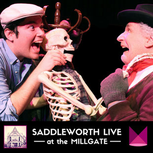 Steptoe and Son live on stage at the Millgate