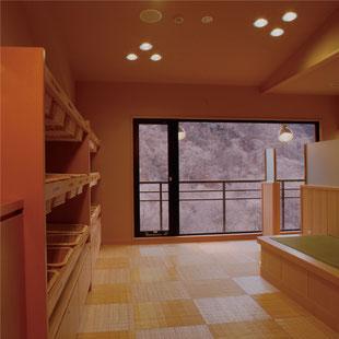 展望露天風呂,展望大浴場,脱衣室,小槌の宿 鶴亀大吉,日光