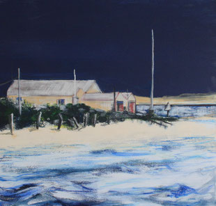 RNLI Painting - Sally-Anne Adams Artist