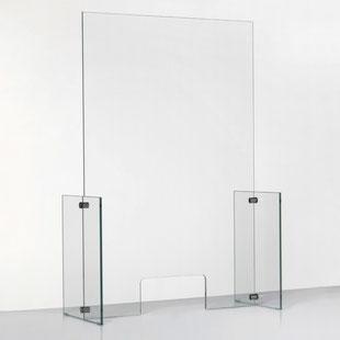 Spuckschutz Plexiglas ohne Durchreiche