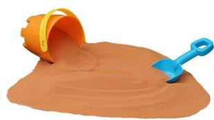 砂遊び用の砂