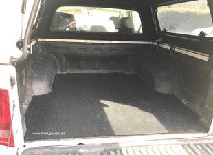Antirutschmatte VW Amarok, Doppelkabine, Extrakabine, Doka, XCab, www.pickupmatte.de