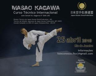 Seminario Internacional Shihan Mazao K. Instructor en Jefe Mundial JKS