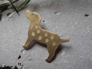 Labrador  ラブラドール  Brooch