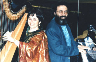 Nehama REUBEN & Shimon REUBEN.DUO REUBEN. harp & piano Concert 1993