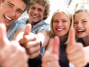 Zahnreinigung für Jugendliche