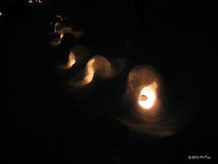雪灯篭(奥日光/栃木県)