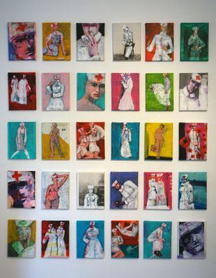 Cornelia Enox | Übersicht Bilder Leinwand Acryl