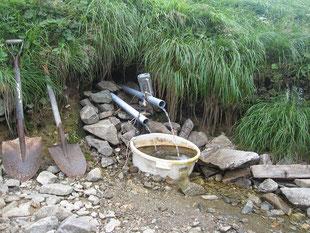 金玉水の水場