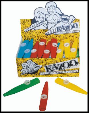 Boîte de 36 kazoos