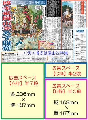 スポーツ報知西部本社版企画特集広告イメージ