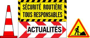 Vers le site officiel de la sécurité routière : actualités