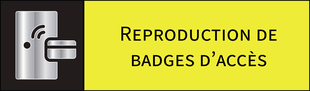 Reproduction de badges d'accès