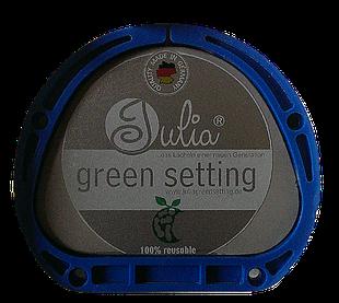 Julia greensetting für die AmannGirrbach Aufnahme