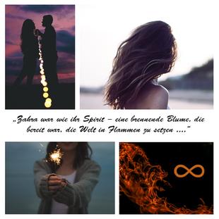 Zahra, Seelen-Trilogie, Seele aus Feuer, Seele aus Donner, Marie Rapp