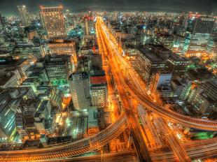 高速の夜景_ベストライフスタイル
