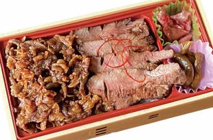 仙台牛すきやき煮牛たん弁当