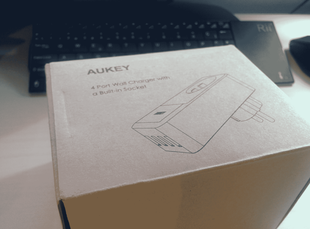 Enchufe Cargador 4 USB de Aukey