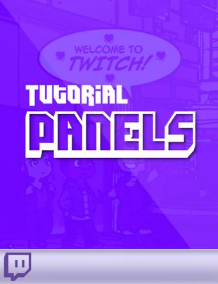 twitch panels tutorial hinzufügen oder bearbeiten