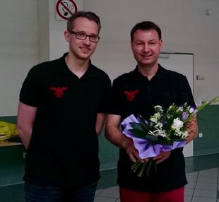 Verabschiedung von Jörg Mahlich als Vereinsvorsitzender (Foto: Bianca Mahlich)