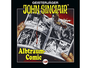 CD Cover John Sinclair Albtraum-Comic