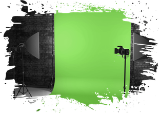 Fotobox mit Greenscreen