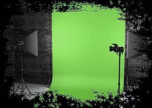 Fotobox mit Greenscreen